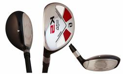 "Majek Golf +1"" than Std, Big & Tall Men's #6 Hybrid Senior """