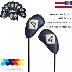 10 Pcs/set Golf Iron Club Head Covers, TaylorMade, Callaway,