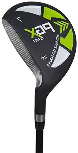 Pinemeadow Golf Men's 12394 PGX Offset 7 Wood Driver, Black/