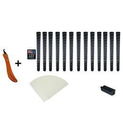 13 Piece Tacki-Mac Midsize Pro Wrap Grip Kit 13 Grips 13 Tap