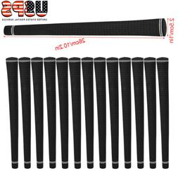 13 PIECE VELVET GOLF CLUB BLACK JUMBO OVERSIZE BIG GRIPS GRI