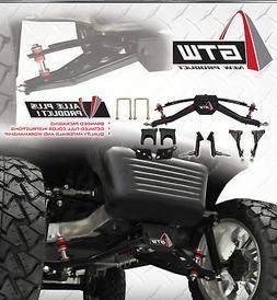 "Club Car Precedent 6"" Double A-Arm Golf Cart Lift Kit"