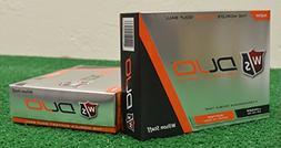 2 Dozen Wilson Staff Duo Orange Golf Balls