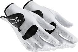 2 NEW Mizuno PRO Mens Golf Gloves Size Medium Regular Left H