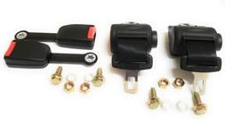 2 Universal Seat Lap Belt Kits for Club Car, Yamaha, EZGO Go