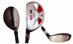 """Majek Golf +2"""" than Std XL Big Tall Men's #3 Hybrid Reg Flex"""