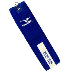 "2015 Mizuno Trifold Tour Golf Towel 16""x21"" - Swivel Clip At"