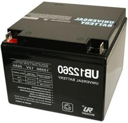 Universal Power Group 12V 26AH Battery Replacement for Bat C