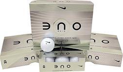 3 Dozen NEW Nike ONE Platinum TW 36 Premium Golf Balls 3-Bal