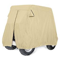 Leader Accessories 300D Golf Cart Cover Storage Fit EZ Go, C