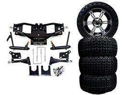 "3G A-Arm Deluxe 6"" Lift Kit For Club Car DS 2004 + W/ 12"" Bl"