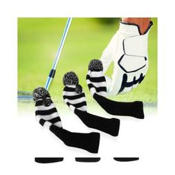 XCSOURCE 3X Golf Club Knitted Headcover Head Covers for Titl