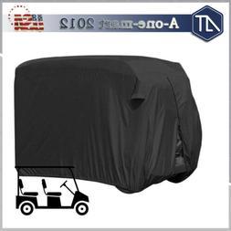 4-passenger Dust Prevention Golf Cart Cover Waterproof EZGO