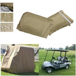 4 Passenger Enclosure Golf Cart Storage Cover For EZ Go Club