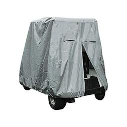 Lmeison 4 Passenger Waterproof Dustproof Golf Cart Cover wit