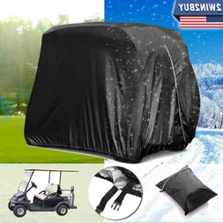 4 Passengers Golf Cart Cover Storage Waterproof Large For Cl