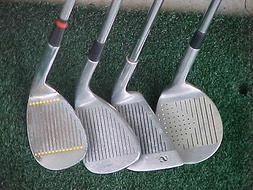 4 Sand Wedges Golf Clubs MacGregor Classic Wilson Ultra Golf