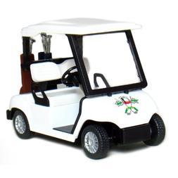 """4½"""" Die-cast Metal Golf Cart Model"""