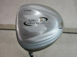 Confidence Golf 460cc Z Hybrid Ti Matrix Driver 12* / RH / L