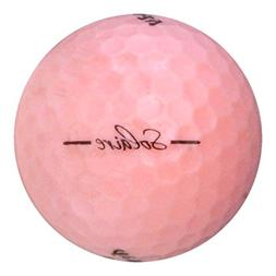 Callaway 48 Solaire Pink - Value  Grade - Recycled  Golf Bal