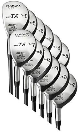 8-Club Hybrid Set  - Ladies Flex Graphite Shaft - Left Hande