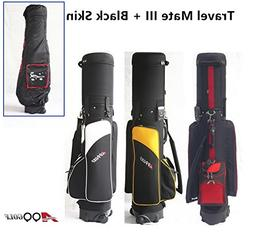 A99 Golf Travel Mate III with SKIN CarryOn Cover With TSA Lo
