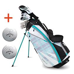 Bundle:Callaway Women's Strata Ultimate Complete Golf Set wi