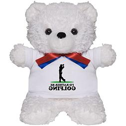 CafePress - I'd Rather Be Golfing - Teddy Bear, Plush Stuffe
