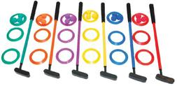 Champion Sports Mini Golf Clubs: Multi Colored Putt Putt Min