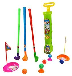 Children's Toddler Plastic Toy Golf Play Set