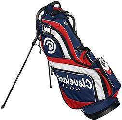 Cleveland Golf Male Cg Stand Bag, Navy/Red/White