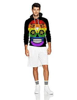 EGOCO Men's 2018 Fashion Athletic Sweatshirts Novelty Gay Pr