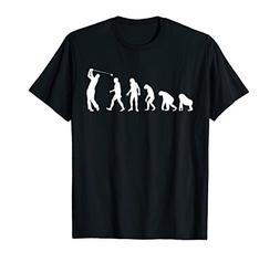 Evolution of Golf T Shirt - Funny Golf Clubs Shirt