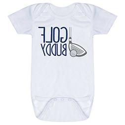 Golf Baby & Infant Onesie | Golf Buddy | NAVY | One Piece Ne