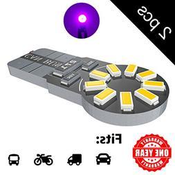 LED Monster 2-Pack Purple 18-SMD LED Light Bulb for License