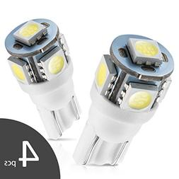 Marsauto 194 168 T10 2825 LED Light Bulbs for Car Dome Map D