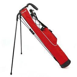 Orlimar Pitch & Putt Golf Lightweight Stand Carry Bag, Brick
