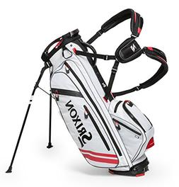 Srixon Z FOUR Stand Bag, White/Red