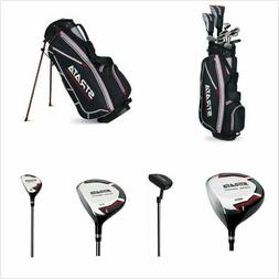 Strata Golf- LH Strata Complete Set W/Bag Graph/Steel