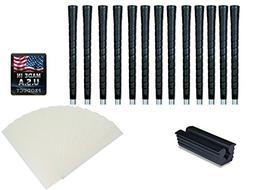 Tacki-Mac Golf Grips Standard Size Black Pro Tour Wrap Grip