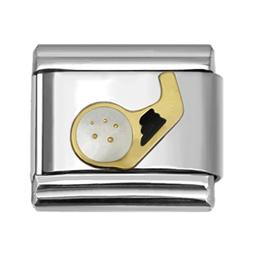 Your Pick Sports Theme Collection Italian Charms 9 mm Stainl