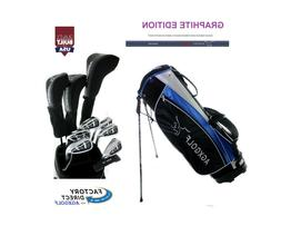 ALL SIZES LADIES GRAPHITE COMPLETE GOLF CLUB SET wDRIVER+HYB