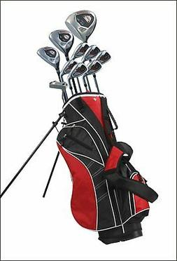 Precise AMG 15 Piece Mens Complete Left Hand Golf Clubs Pack