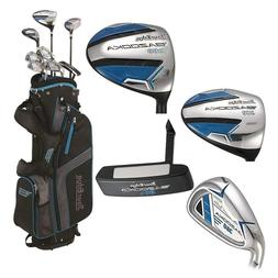 Tour Edge Male Bazooka 360 Varsity Box 2x6 Set , Black/Blue,