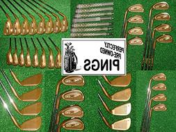 Ping BECU/BENI ISI BENI Golf Clubs, Green Dot, Left Handed,