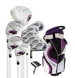 Believe Ladies Complete Golf Set by Founders Club Purple Rig