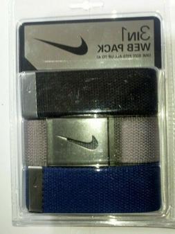 belt 3in1 web pack gray blue black
