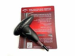 NEW Callaway Big Bertha Alpha 815 Torque Wrench Tool, Black-