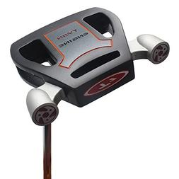 T7 Twin Engine Black Mallet Golf Putter Right Handed with Al