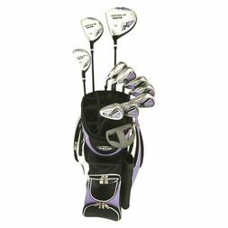 Nitro Blaster Women's 15 Piece Golf Club Set - Purple/Black